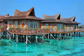 MABUL ISLAND: MABUL WATER BUNGALOW (SMART)